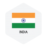 Recruitbee India flag