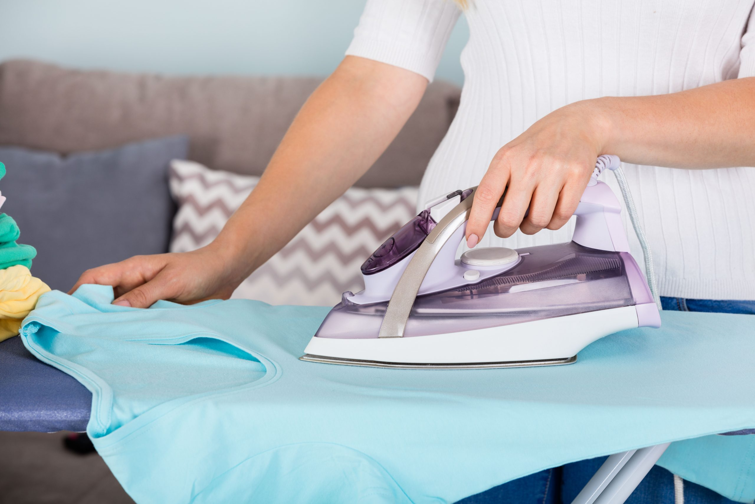 domestic helper ironing singapore image