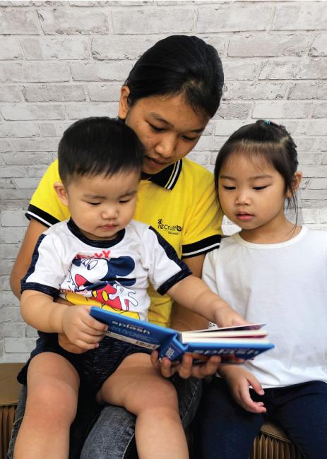 Recruitbee DH Teaching the Children